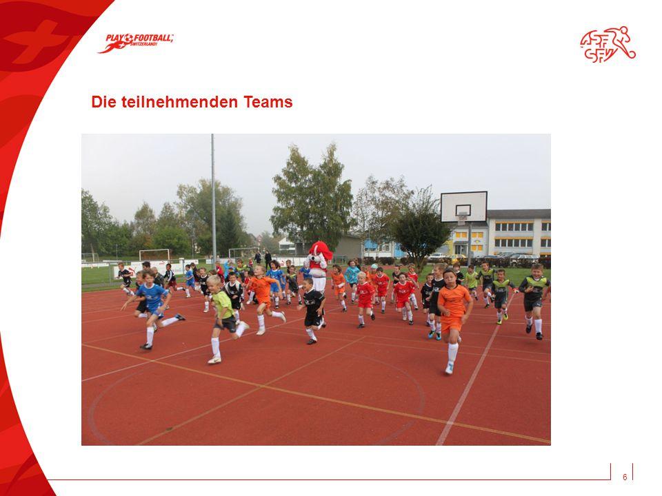 6 Die teilnehmenden Teams