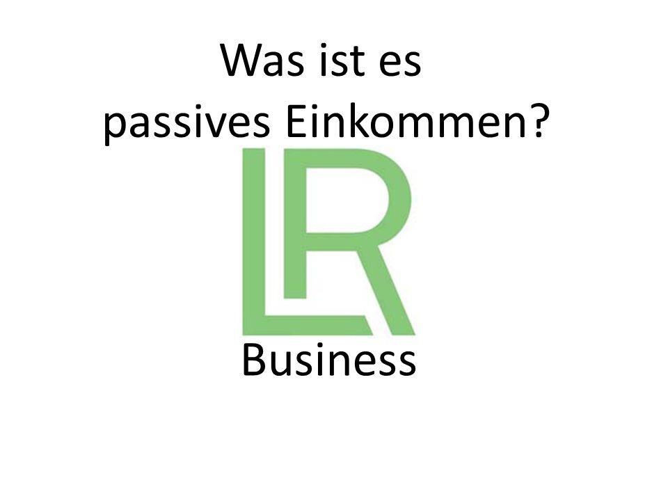 Business Was ist es passives Einkommen