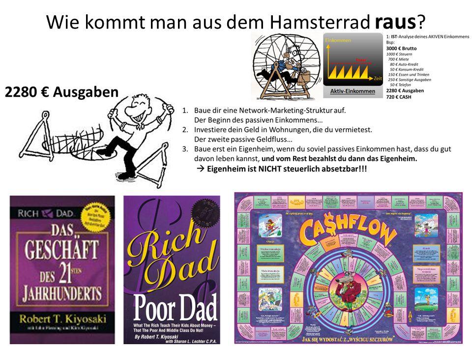 Wie kommt man aus dem Hamsterrad raus