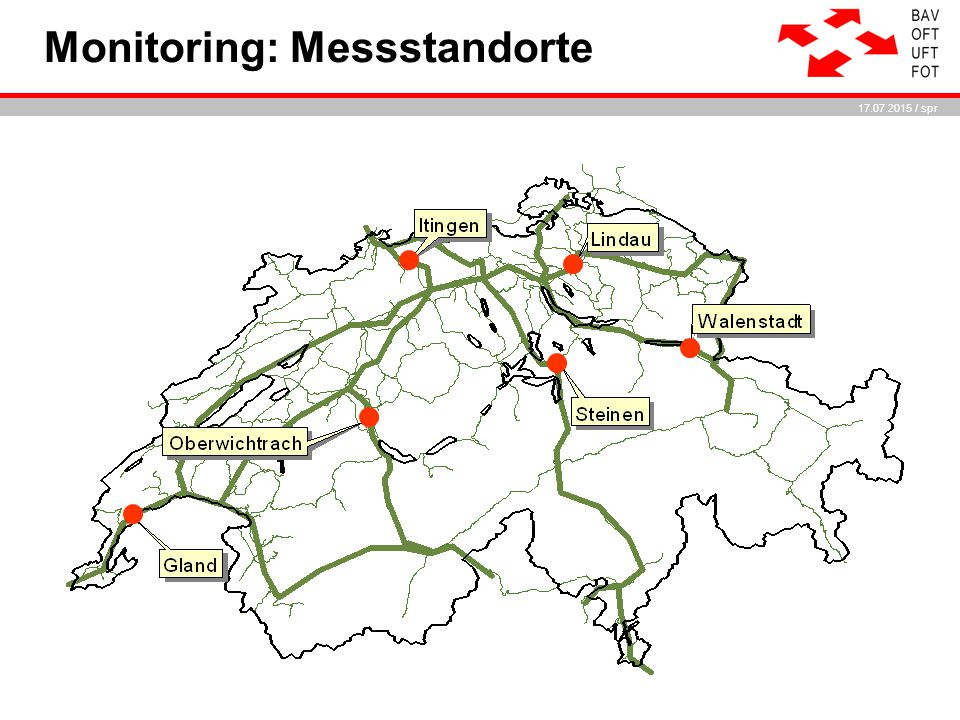 17.07.2015 / spr Monitoring: Messstandorte