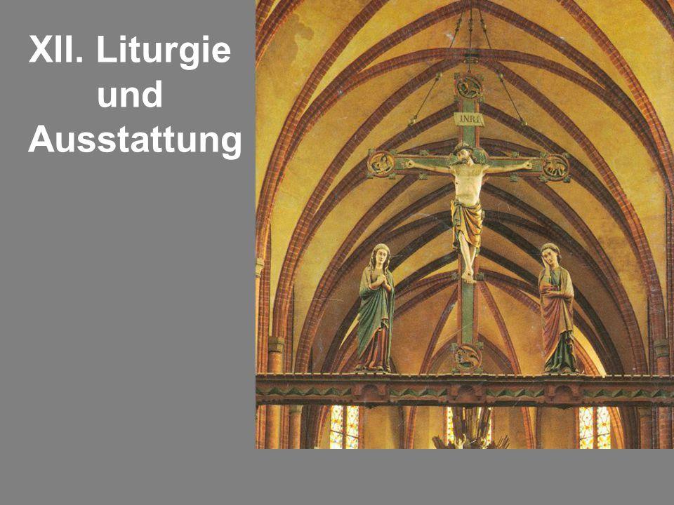 XII. Liturgie und Ausstattung
