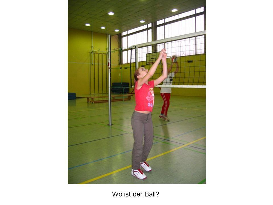 Wo ist der Ball?