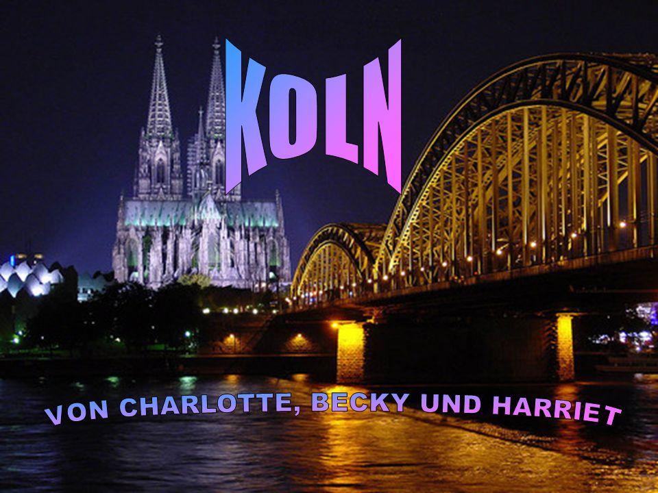 Köln ist Deutschland's Quart Grossstadt.Es liegt auf dem Fluss Rhine.