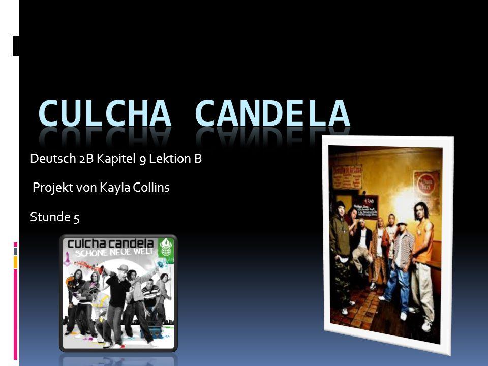 Deutsch 2B Kapitel 9 Lektion B Projekt von Kayla Collins Stunde 5