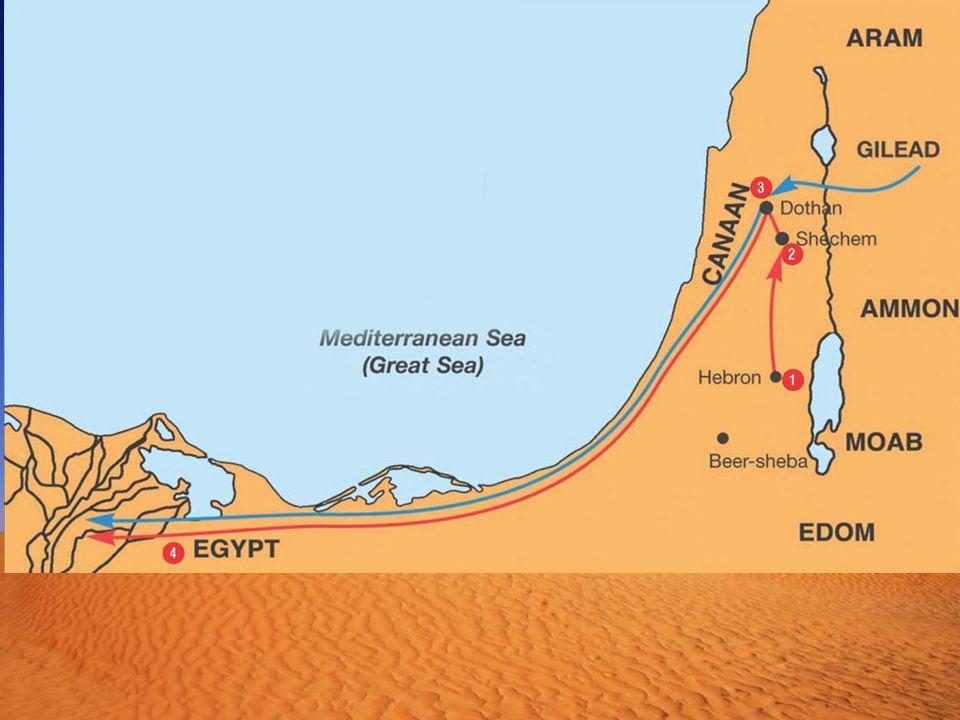 """1.Mose 39,1 """"Josef war von den ismaëlitischen Kaufleuten nach Ägypten gebracht worden."""