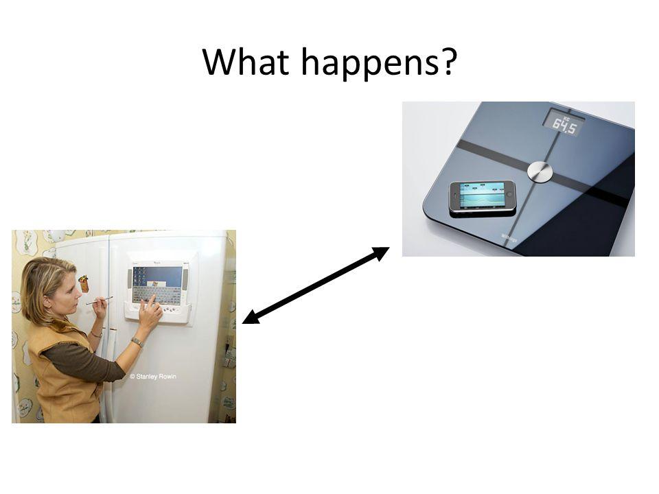 What happens?