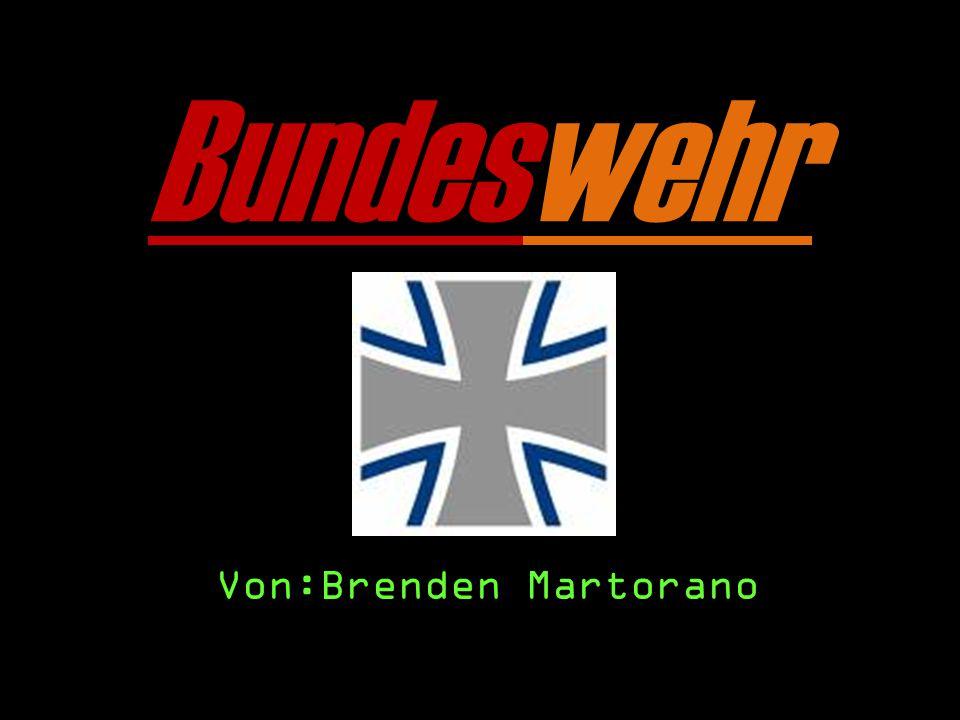 Bundeswehr Von:Brenden Martorano