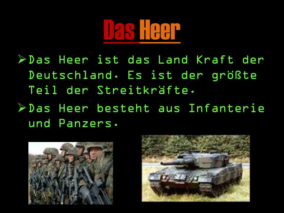 Streitkrafte DD ie Deutsche Streitkrafte Deutschland und seiner Interessen schutz.