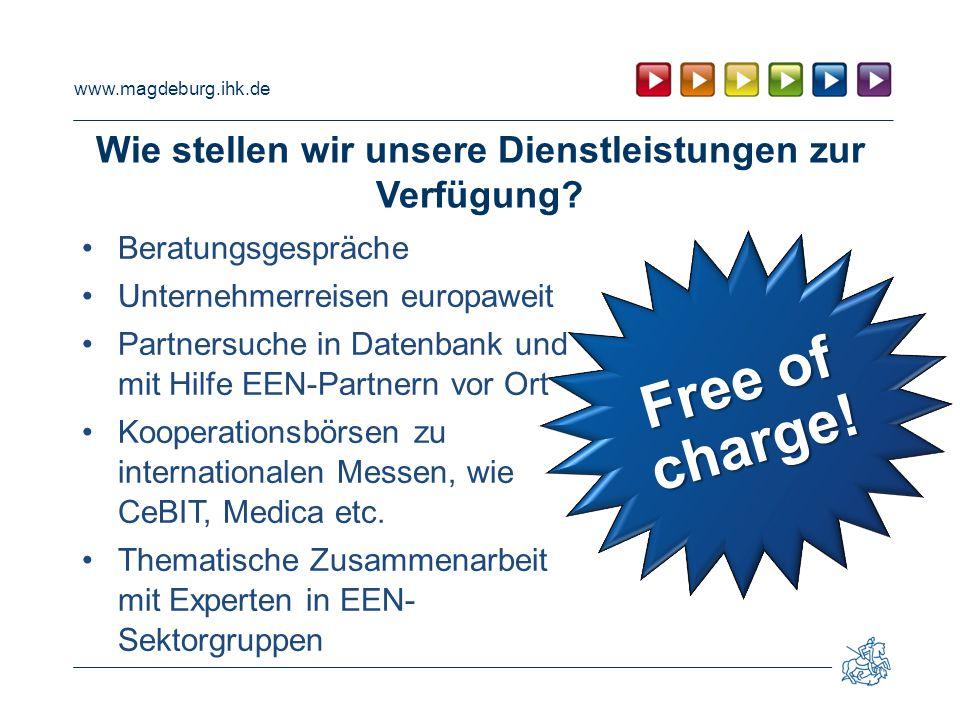 www.magdeburg.ihk.de Wie stellen wir unsere Dienstleistungen zur Verfügung.