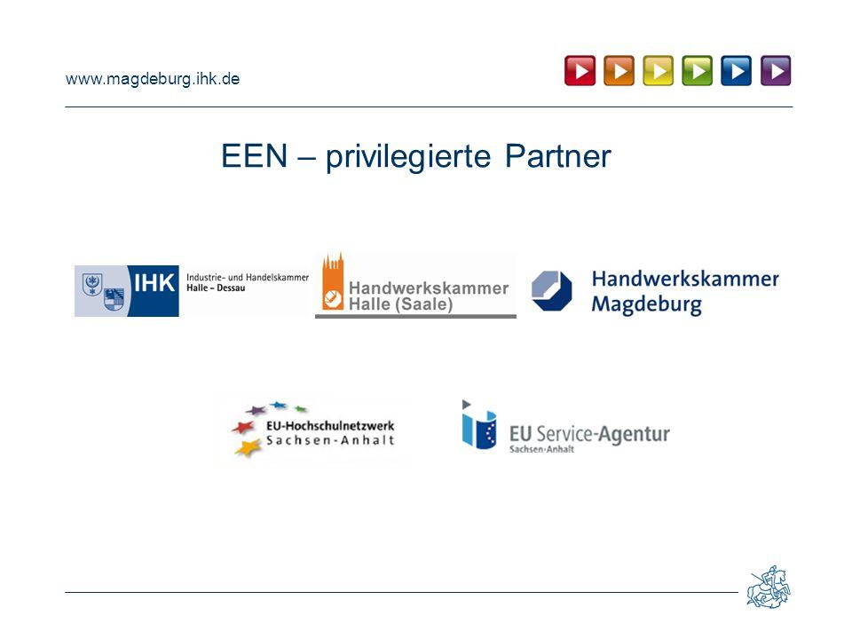 www.magdeburg.ihk.de EEN – privilegierte Partner