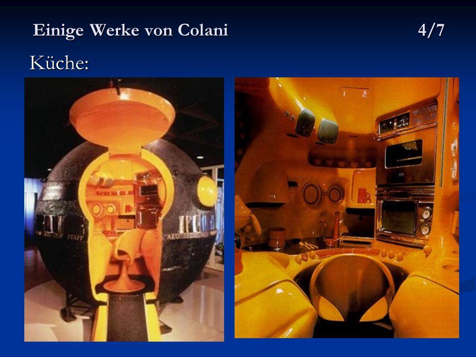 Einige Werke von Colani 4/7 Küche: