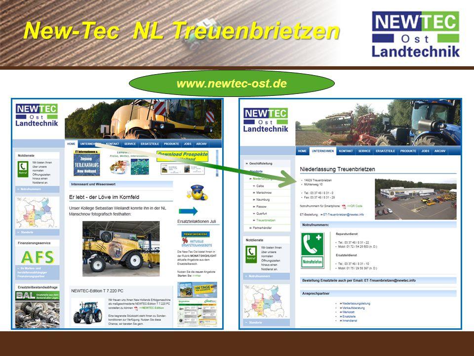 Bereich (Ändern unter Ansicht – Folienmaster) www.newtec-ost.de New-Tec NL Treuenbrietzen