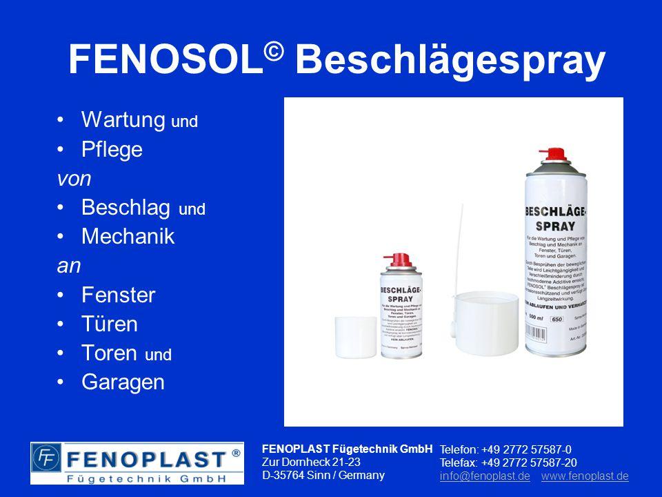 FENOPLAST Fügetechnik GmbH Zur Dornheck 21-23 D-35764 Sinn / Germany Telefon: +49 2772 57587-0 Telefax: +49 2772 57587-20 info@fenoplast.deinfo@fenoplast.de www.fenoplast.dewww.fenoplast.deK L E B E N D I C H T E N R E I N I G E N Das Konzept für gemeinsame Erfolge
