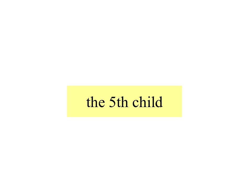 the 5th child