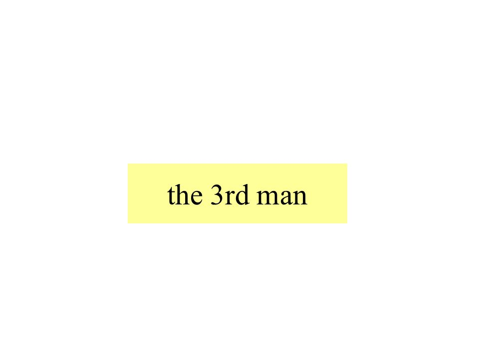the 3rd man