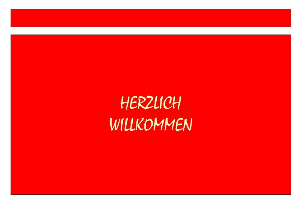 HERZLICH WILLKOMMEN Verbundschule