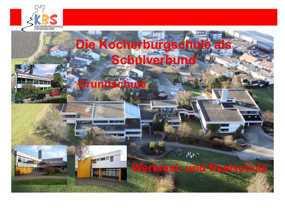 Die Kocherburgschule als Schulverbund Grundschule Werkreal- und Realschule Verbundschule