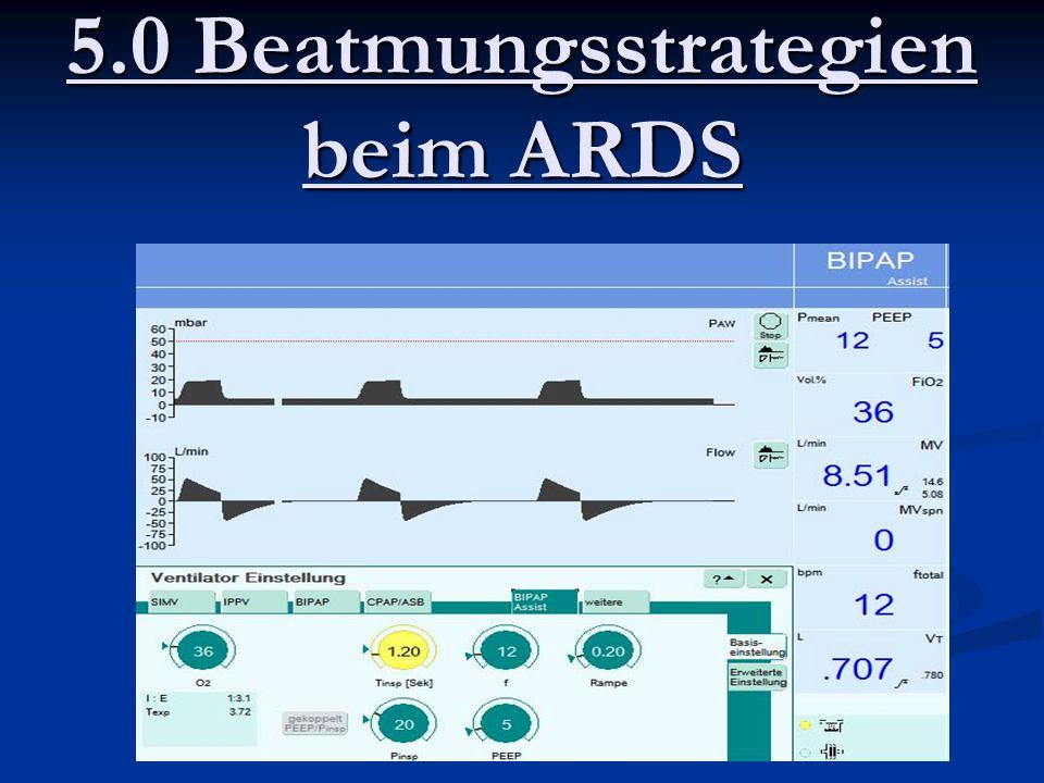 5.0 Beatmungsstrategien beim ARDS