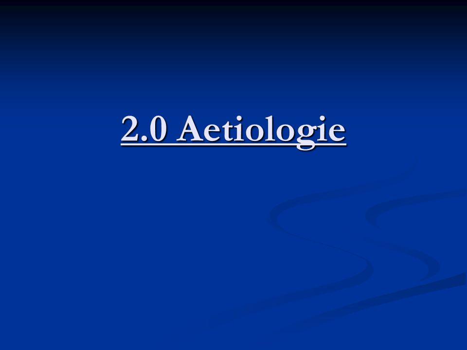 2.0 Aetiologie