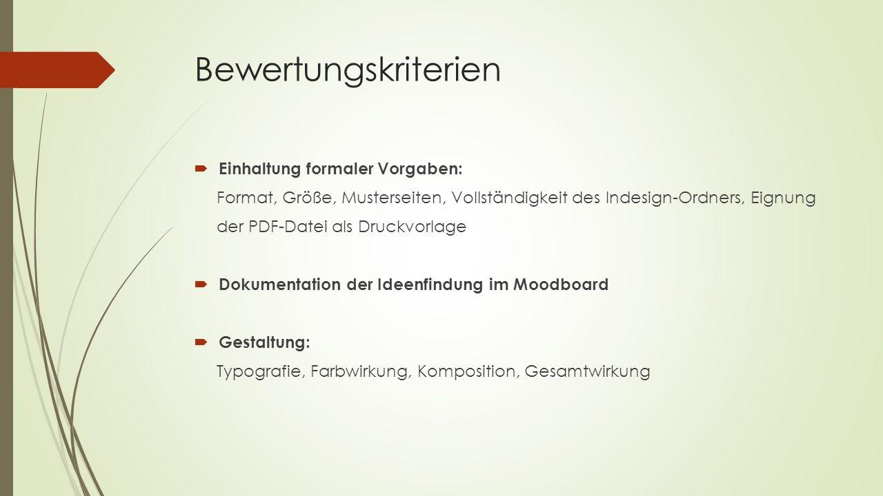Variationen der Lernsituation  Jahrbuch  Katalog für Schülerarbeiten  Programmheft für ein Schultheater  Broschüren ( z.B.