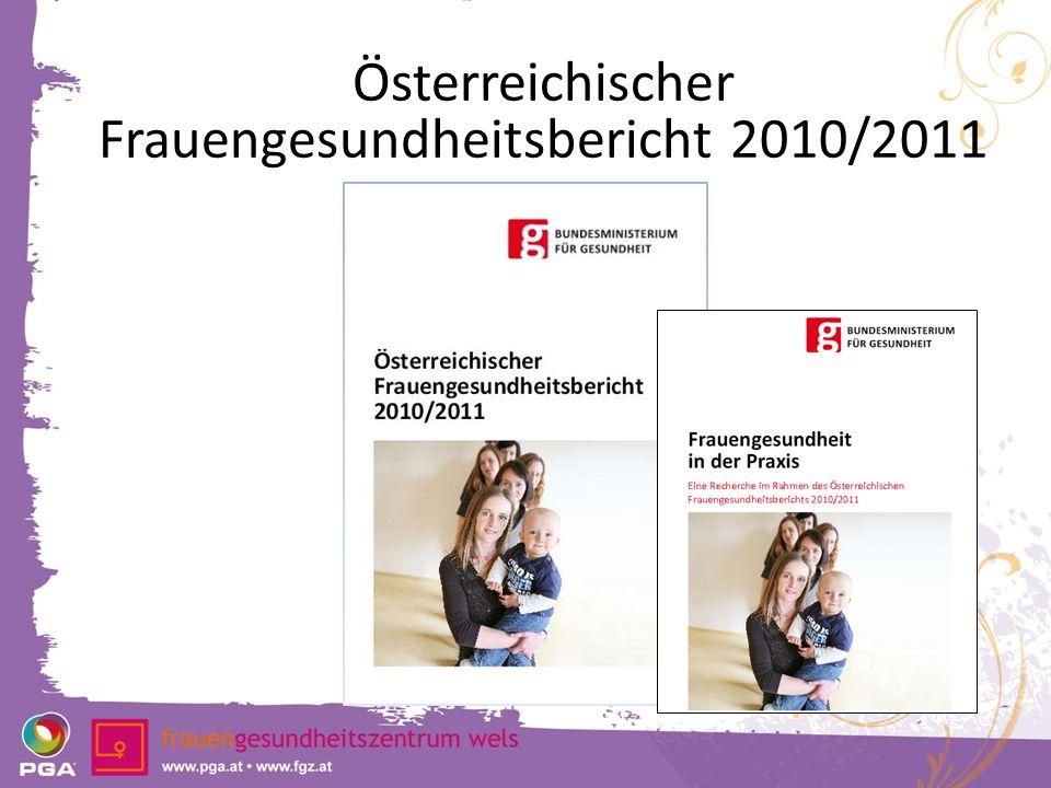 Österreichischer Frauengesundheitsbericht 2010/2011