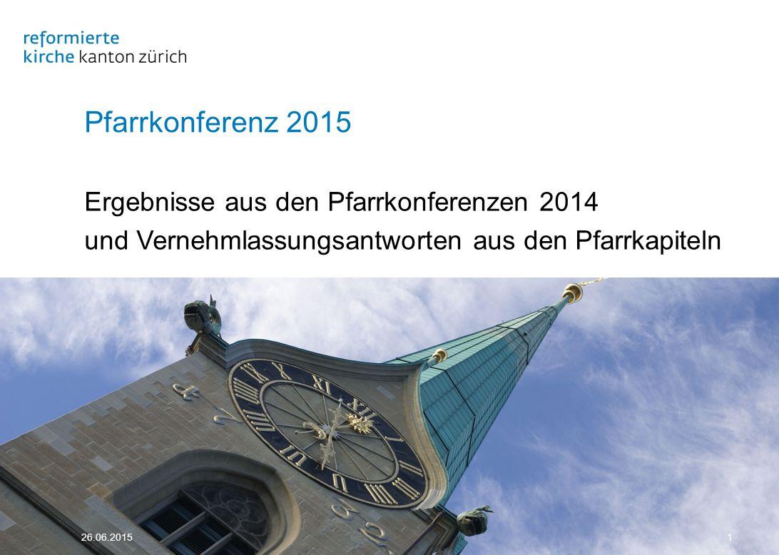 26.06.201552 4 Team, Teilzeit, Pfarrhaus