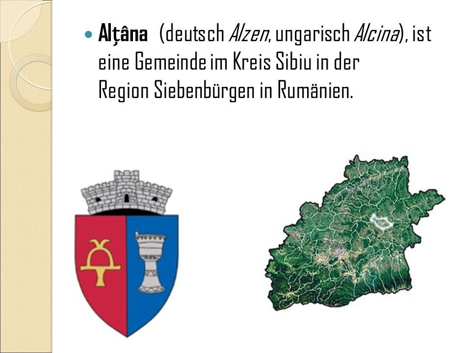 Geographische Lage Alzen liegt im Kreis Hermannstadt, vier Kilometer nördlich von Nocrich (Leschkirch) und südwestlich von Agnita (Agnetheln) im Harbachtal.