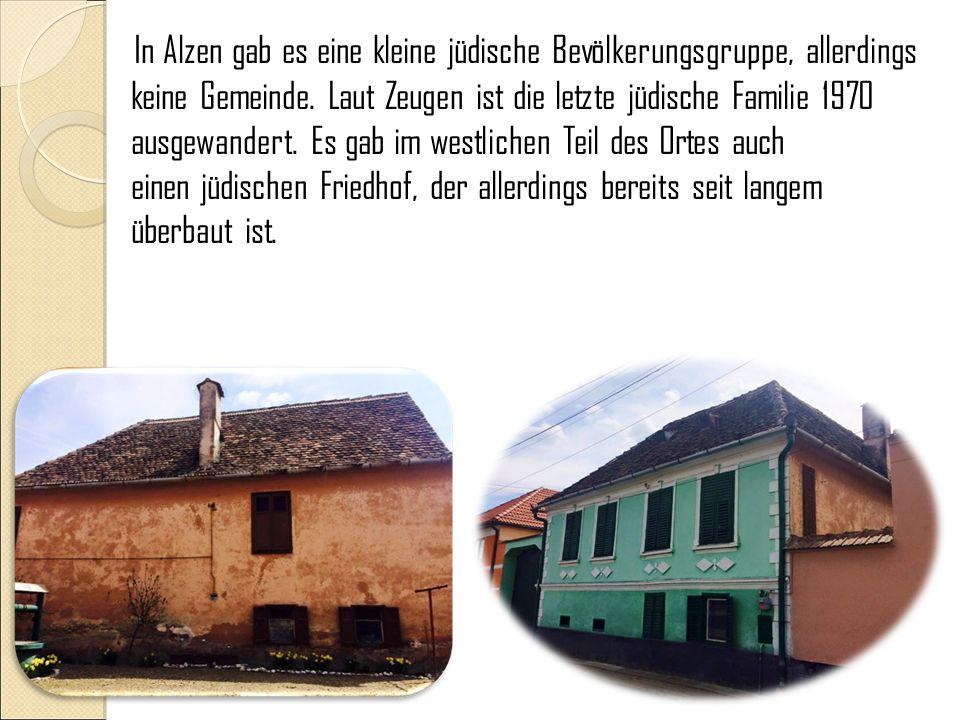 Ursprung des Namens: Zehn Sachsen kamen in Gegend von Alzen, begannen die Wälder zu roden und jeder hat sich ein Häuschen gebaut, so ähnlich wie ihre Häuser, die sie im Heimatland zurückgelassen hatten.