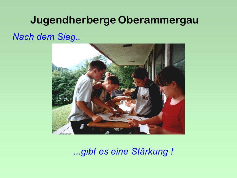 Jugendherberge Oberammergau Kein Wunder.....bei solchen Fans !