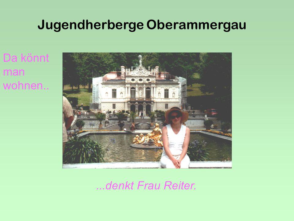 Jugendherberge Oberammergau Nach dem Sieg.....gibt es eine Stärkung !