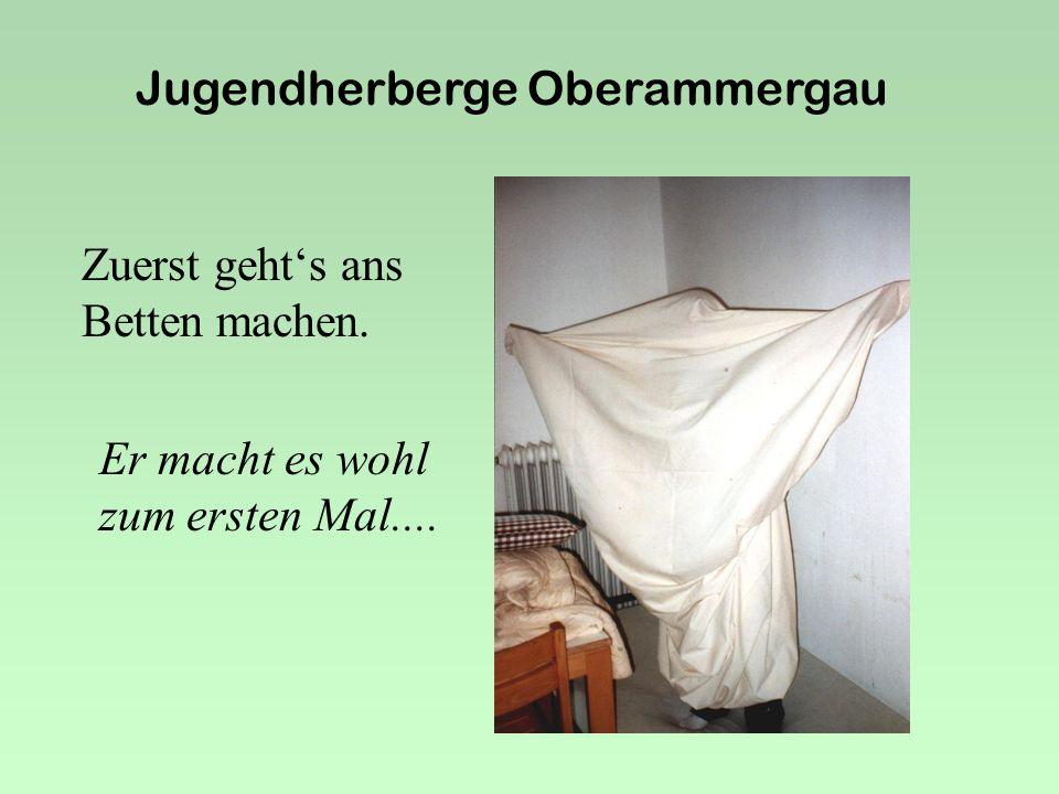 Jugendherberge Oberammergau 5a Vom 8.Juli bis 12. Juli 2002 Die 5a....on the top !