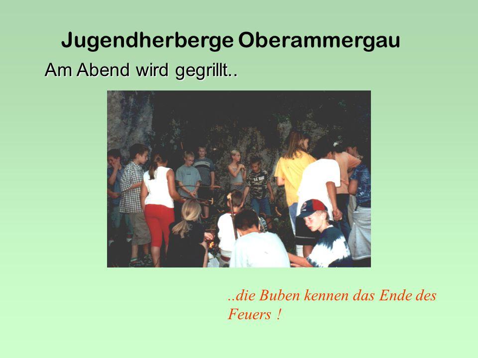 Jugendherberge Oberammergau Das Grauen naht...... in der Bärenhöhle.