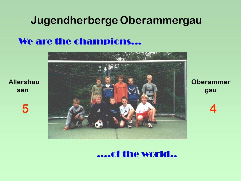 """Jugendherberge Oberammergau Lebt hier der """"alte Sepp Oder gibt es ihn gar nicht"""