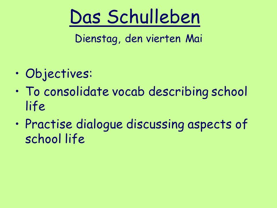 Das Schulleben in England und Deutschland 1)How does this person get to school.