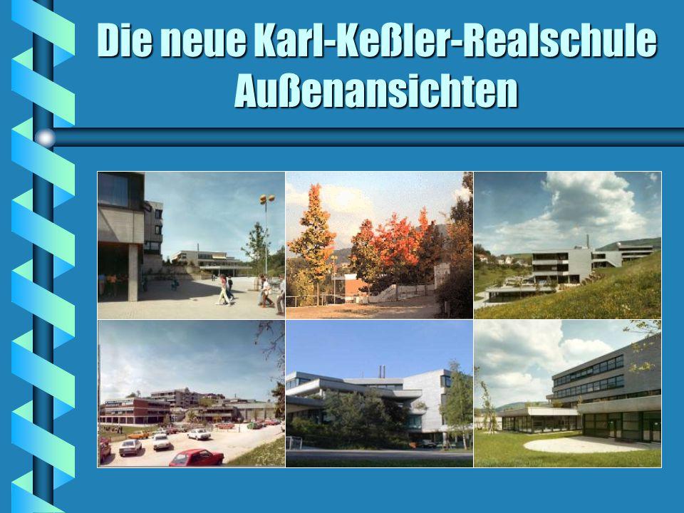Die neue Karl-Keßler-Realschule Außenansichten