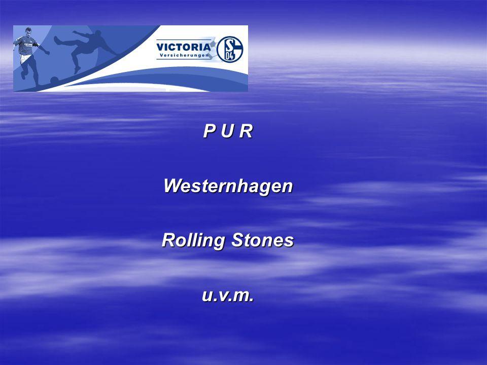P U R Westernhagen Rolling Stones u.v.m.