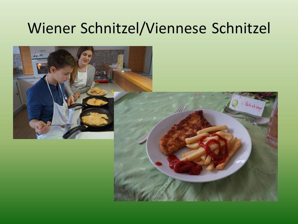 Wiener Schnitzel/Viennese Schnitzel
