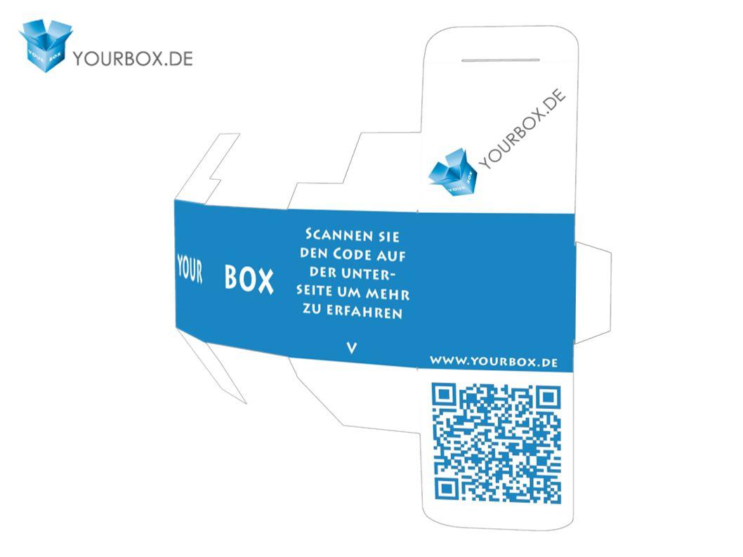 YourBox ermöglicht die Gestaltung und die Bedruckung von entfalteten 3D Objekten im Browser.