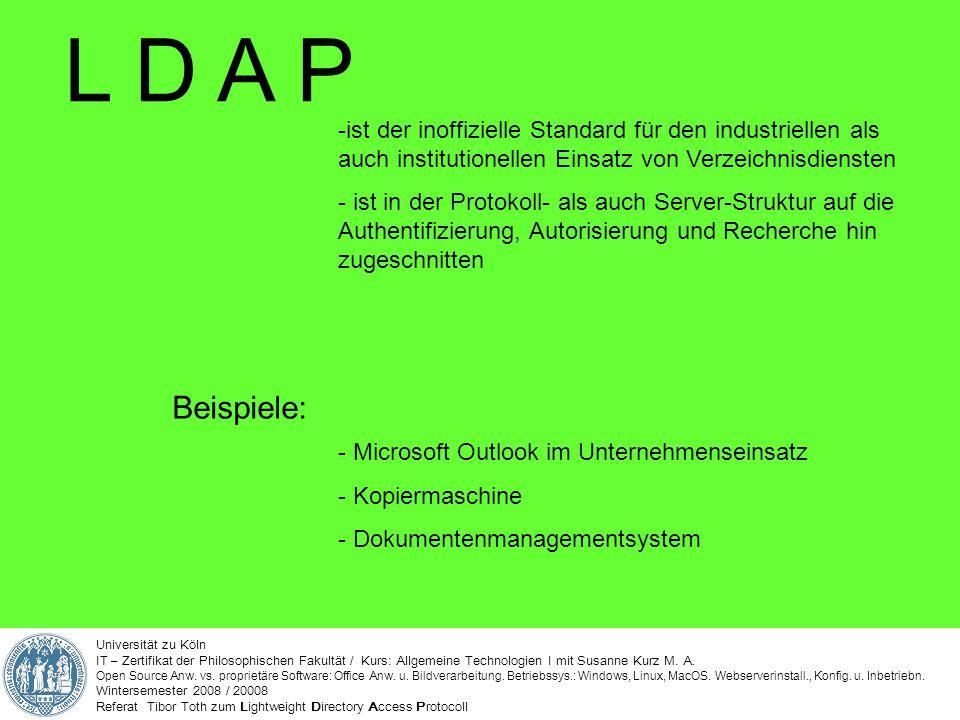 Universität zu Köln IT – Zertifikat der Philosophischen Fakultät / Kurs: Allgemeine Technologien I mit Susanne Kurz M. A. Open Source Anw. vs. proprie
