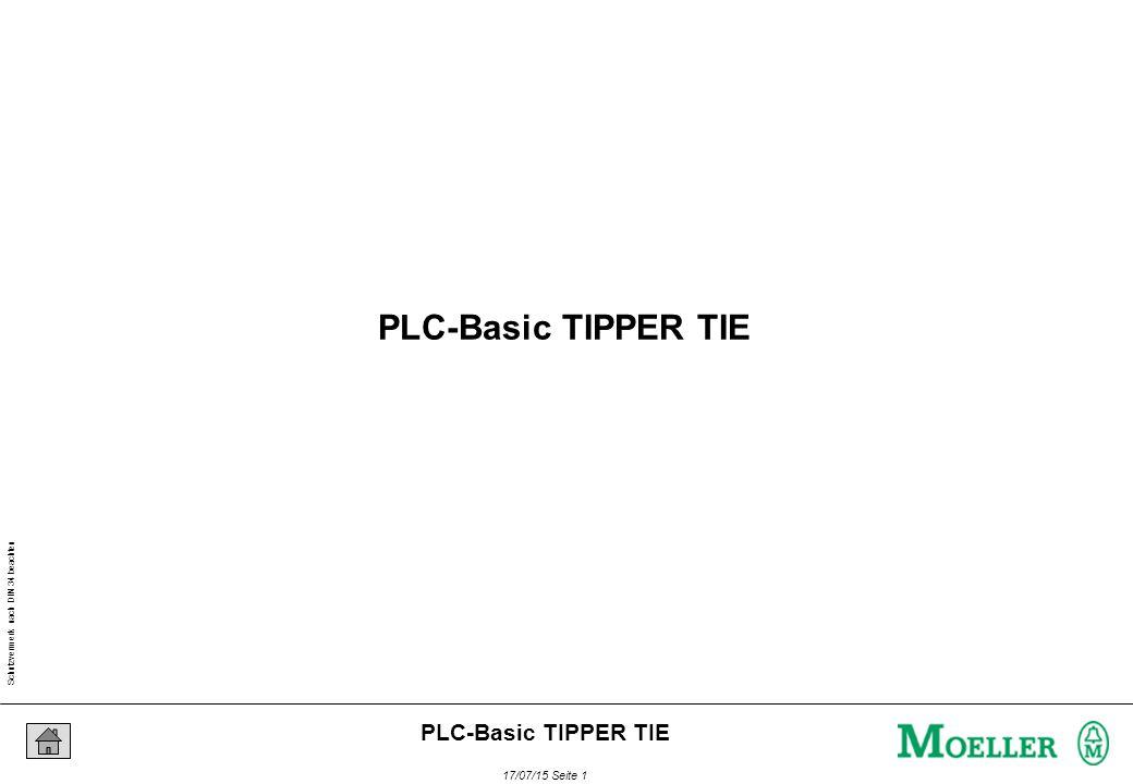 Schutzvermerk nach DIN 34 beachten 17/07/15 Seite 1 PLC-Basic TIPPER TIE