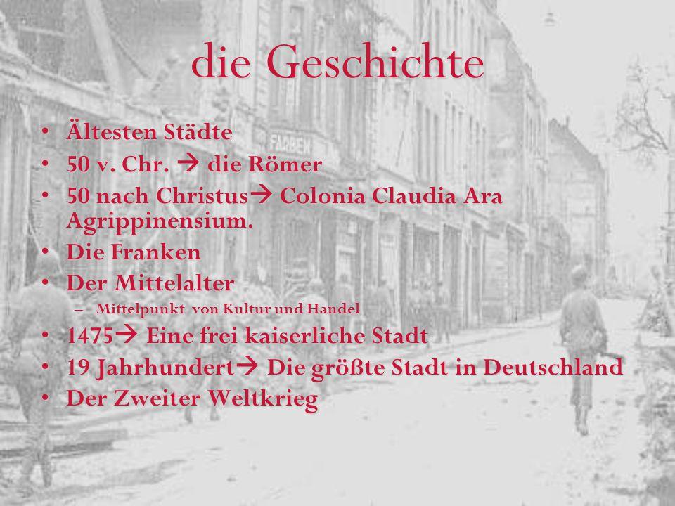 Der grundlegenden Tatsachen Der viertgrößte Stadt in DeutschlandDer viertgrößte Stadt in Deutschland Der sechzehnt- größte Stadt in die EUDer sechzehnt- größte Stadt in die EU Die größte Universität in DeutschlandDie größte Universität in Deutschland