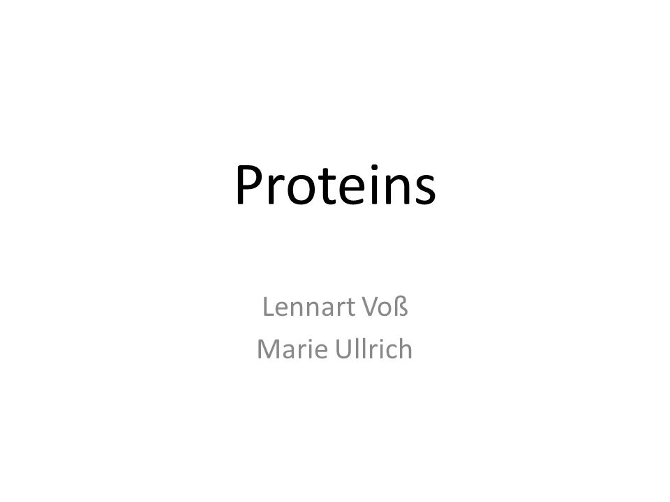 1.Central questions What are proteins. How does the human body produce proteins.