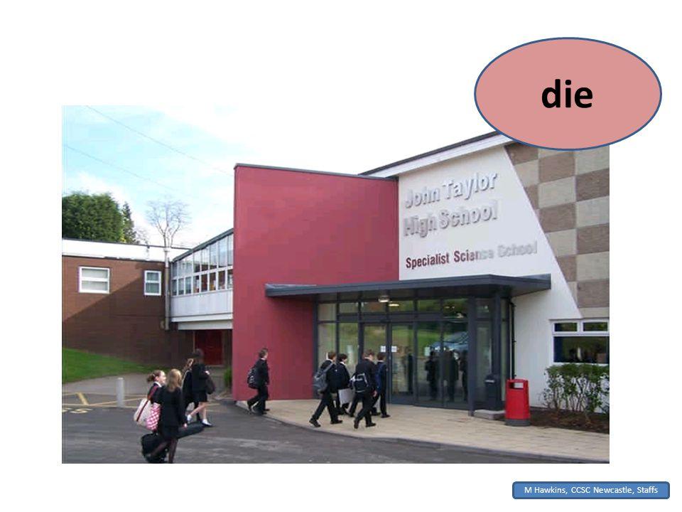 M Hawkins, CCSC Newcastle, Staffs die
