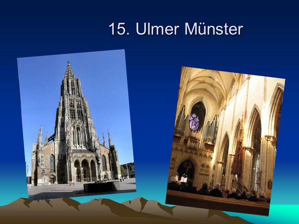 15. Ulmer Münster