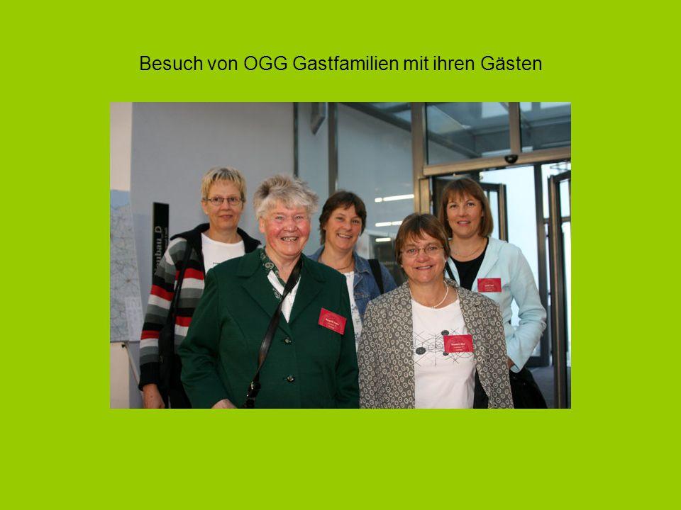 Besuch von OGG Gastfamilien mit ihren Gästen
