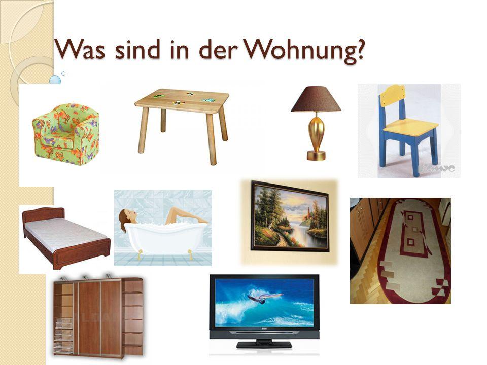 Finde die passende Pluralform Der Tisch - Der Sessel- Das Bild - Das Sofa - Das Bett -
