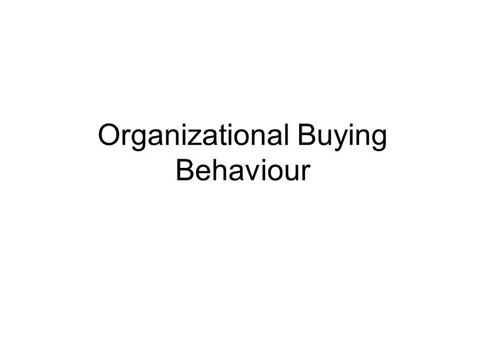 Käuferverhalten Einflussfaktoren –Kulturelle Faktoren –Soziale Faktoren –Psychologische Faktoren Einflussfaktoren –Umweltfaktoren –Organisationale Faktoren –Interpersonale Faktoren –Individuelle Faktoren der beteiligten Personen –Kulturelle Faktoren Organisationales Käuferverhalten