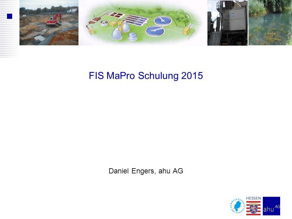 Instanzen von FIS MaPro  Produktivsystem (http://fismapro.wi.hlug.de)  HLUG (Produktivdaten)  wird z.