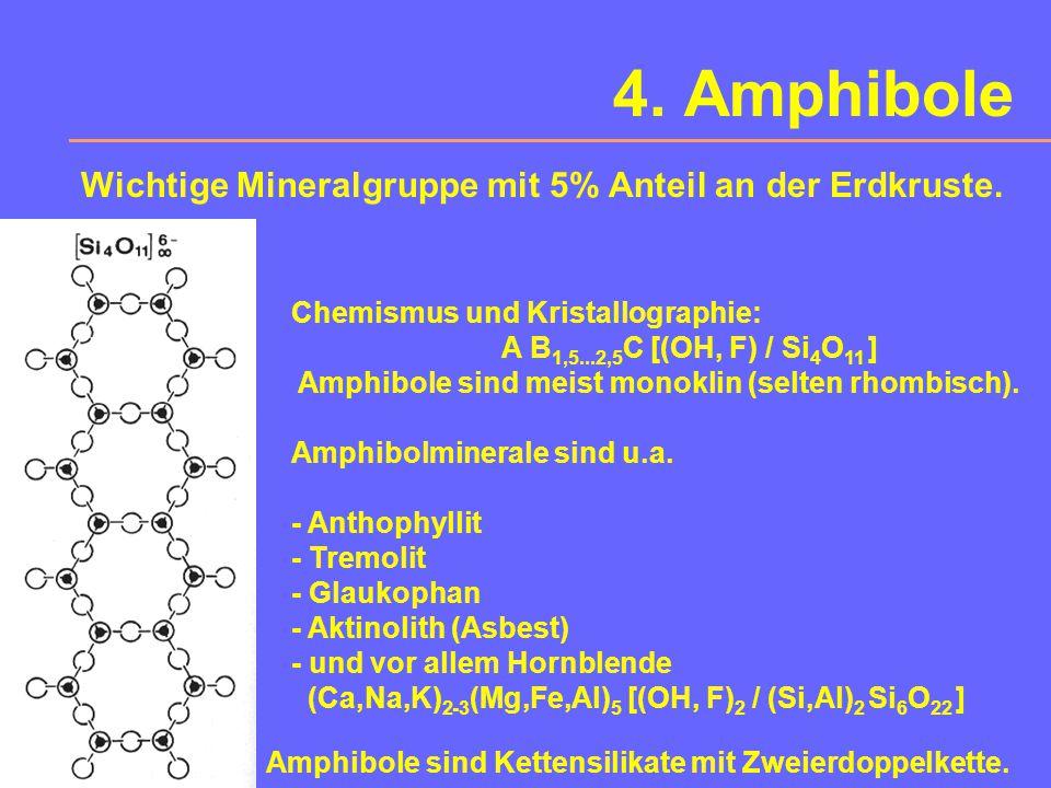 Pyroxene Eigenschaften:H = 5-7, hohe Brechzahl > 1,6, #  90° d > 3,2, dunkles Mineral (mafitisch)