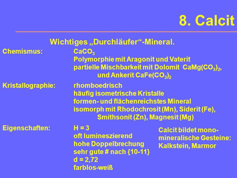 7. Ton-Minerale Wichtige Mineral-Gruppe der Sedimentgesteine. Chemismus und beides ist kompliziert Kristallographie: als Zweischichtsilikat A 2oder3 [